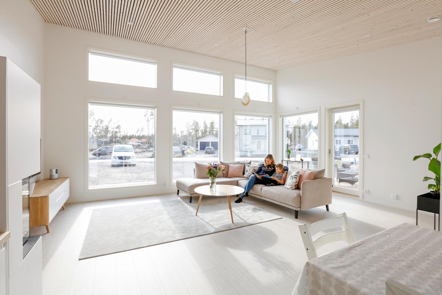 Vardagsrum modernt