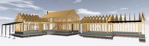 3 D bild konstruktion Bohouse